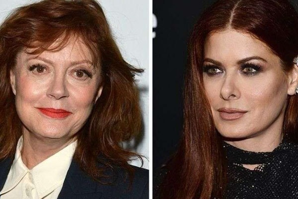 Debra Messing Tells Susan Sarandon to 'STFU' for Saying ...