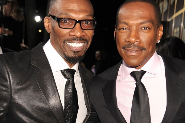 Eddie Murphy and His late brother