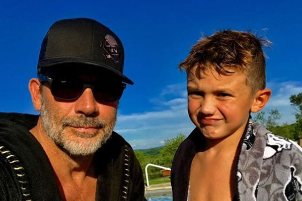 Jeffrey Dean Morgan loves spending time with son Augustus