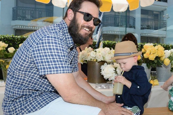Mark Paul and His son Derrek