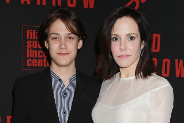 Mary-Louise Parker with son William
