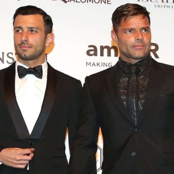 Lucia Martin-Yosef- Ricky Martin's Baby Girl with Husband Jwan Yosef. Already Parents to Two Twin Sons.