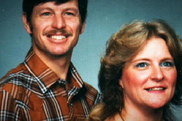 Serial Killer Gary with wife