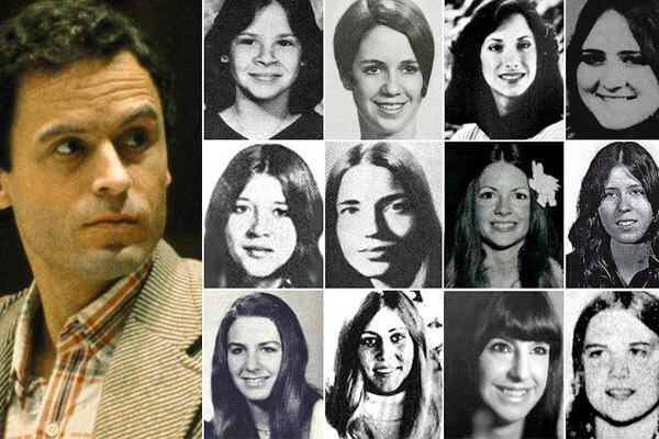 Ted Bundy killed more than 100 women