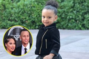 Stephen Curry's daughter Ryan Carson Curry