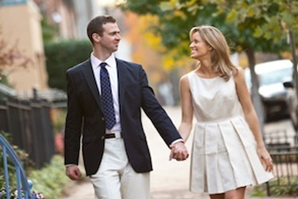 Sunlen Serfaty and her husband Alexis Serfaty
