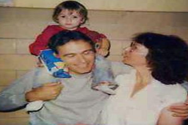 Ted Bundy and His wife Carol with daughter Rose Bundy