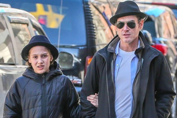 Father Billy Crudup with son William