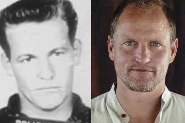 Woody Harrelson and His father Charles Harrelson