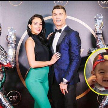 Meet Alana Martina dos Santos Aveiro – Photos of Cristiano Ronaldo's Daughter With Baby Mama Georgina Rodríguez