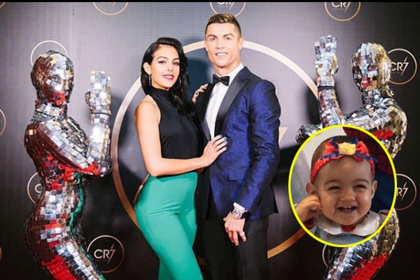 Cristiano Ronaldo's daughter Alana Martina