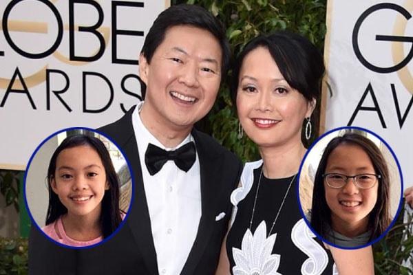 Ken Jeong's daughter Alexa and Zooey Jeong