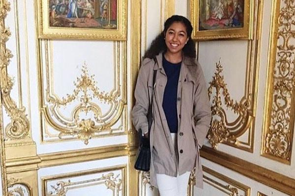 Kimora Lee's daughter Aoki Lee Simmons