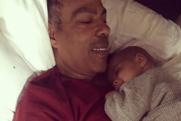 Chris Ivery with his son Eli Christopher
