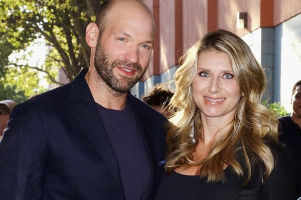 Corey Stoll's wife Nadia Bowers