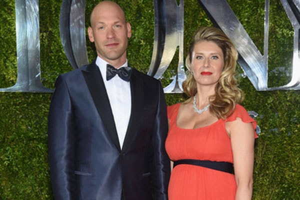 Corey Stoll and his wife Nadia Bowers