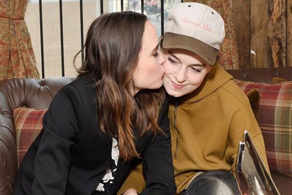 Ellen Page and her wife Emma Portner