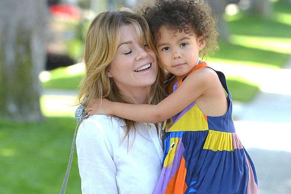 Ellen Pompeo and her daughter Stella Luna Pompeo Ivery