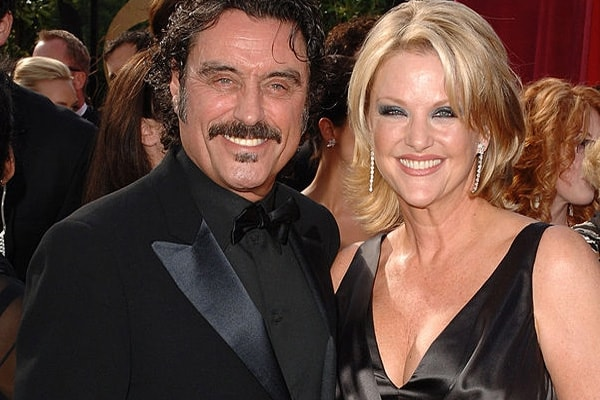 Ian McShane and his current wife Gwen Humble