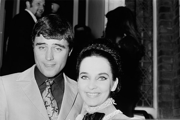 Ian McShane and his ex-wife Ruth Post