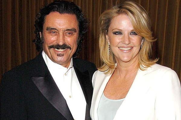 Ian McShane with his current wife Gwen Humble