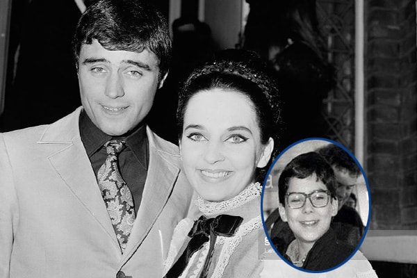 Ian McShane with ex-wife Ruth Post and Son Morgan McShane
