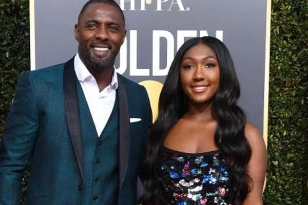 Idris Elba and his daughter Isan Elba