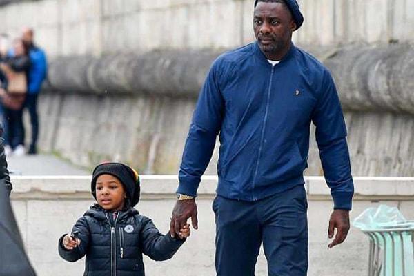 Idris Elba and his son Winston Elba