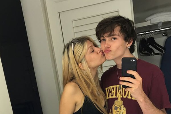 Jack Marsden with girlfriend Lizy