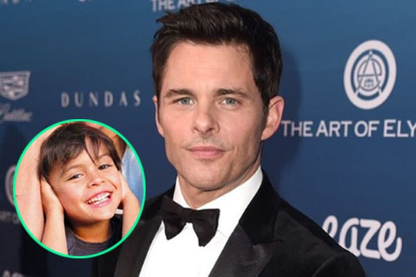 James Marsden's son William Luca Costa-Marsden