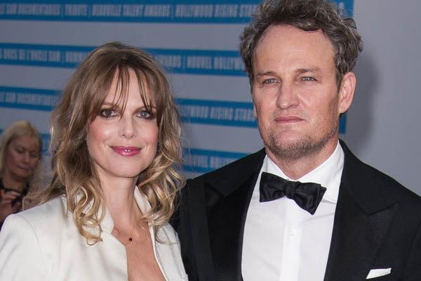 Jason Clarke and his wife Cecile Breccia