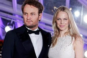Jason Clarke and his wife Cecile Breccia