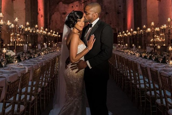 Jazmyn Simon and Dulé Hill wedding