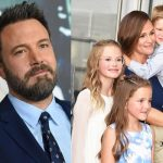 Jennifer Garner and Ben Affleck with their children