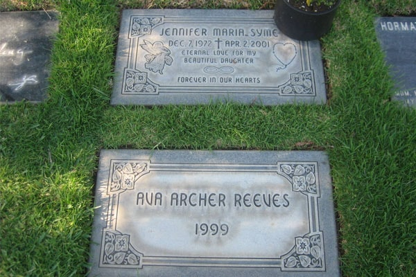 Jennifer Syme's grave