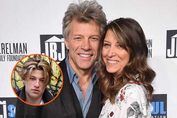 Jon Bon Jovi's son Jacob Hurley Bongiovi