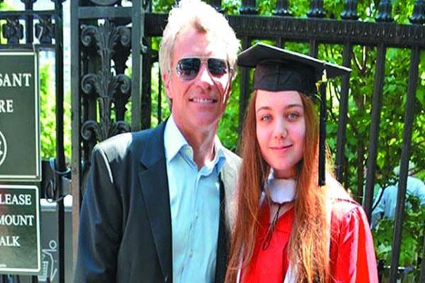 Jon Bon Jovi's daughter Stephanie Rose