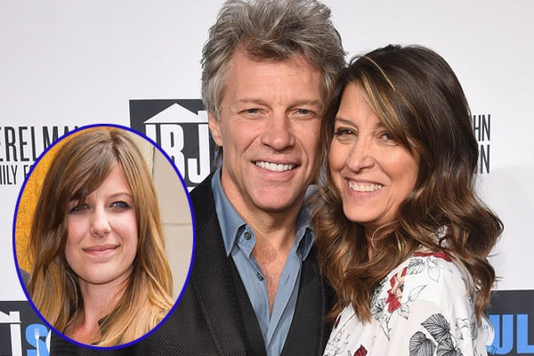 Bon Jovi and his wife Dorothea Hurley with daughter Stephanie Rose Bongiovi