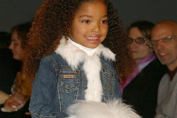 Kimora Lee's daughter Ming Lee Simmons