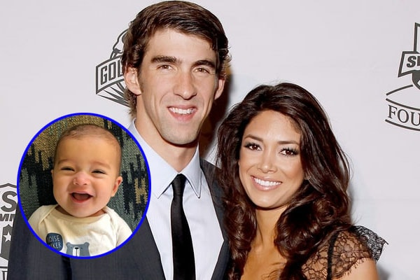 Michael Phelps' son Beckett Richard Phelps