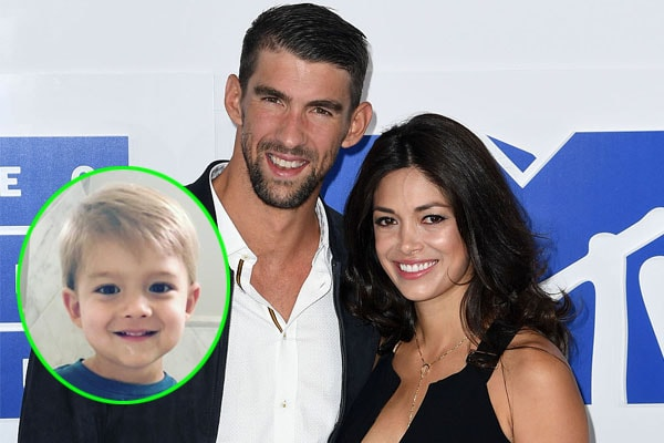 Michael Phelps' son Boomer Robert Phelps