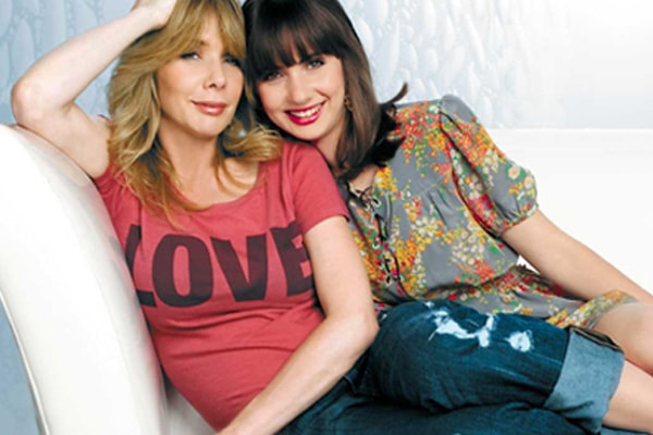 Rosanna Arquette and her daughter Zoe Sidel (3)