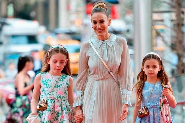 Sarah Jessica Parker with Daughters