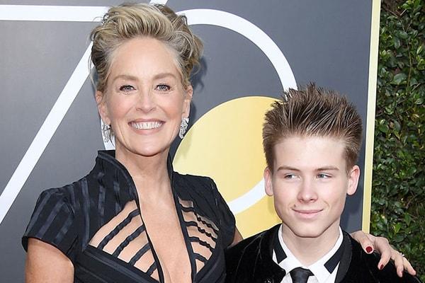 Sharon Stone's son Roan Joseph on his 18th birthday
