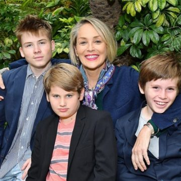 Meet All Three Sons Of Sharon Stone