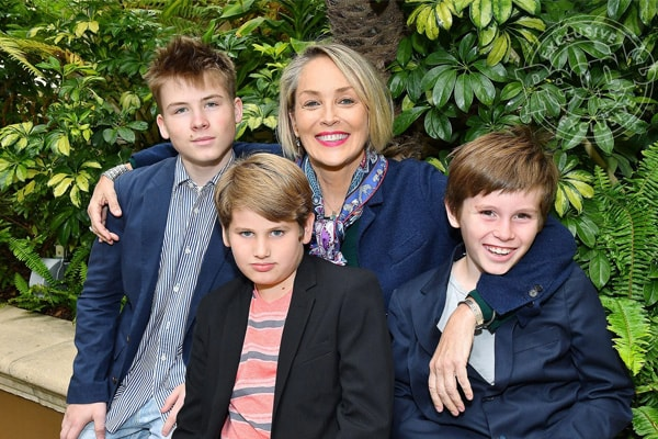Sharon Stone kids