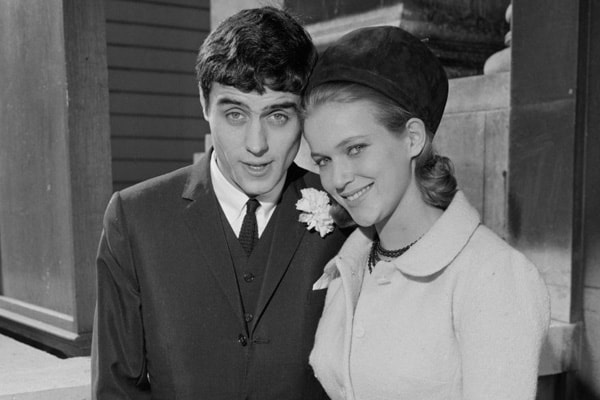 Ian McShane with his ex-wife Suzan Farmer