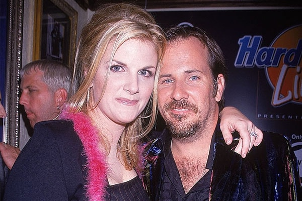 Trisha Yearwood with ex-husband Robert Reynolds