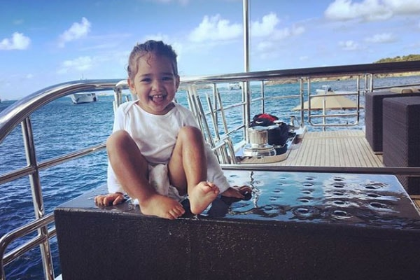 Kimora Lee's son Wolfe Lee Leissner