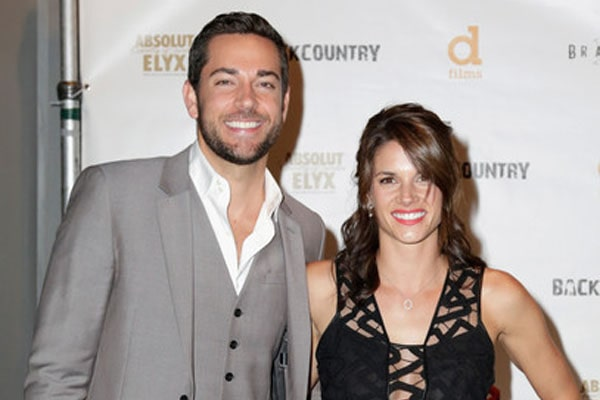 Zachary Levi and Missy Peregrym's marriage